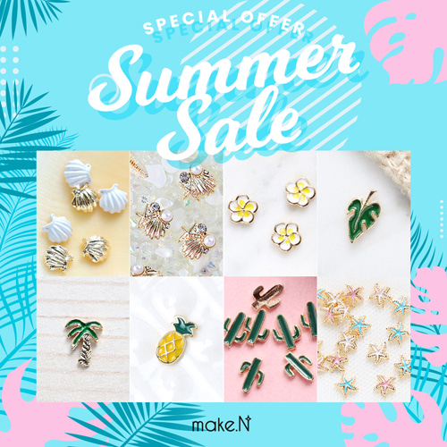 Summer Specical II 메이크엔 네일데코파츠